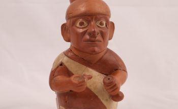 Moche portrait jar, Peru, 4-2964