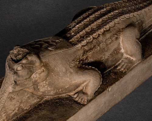 Crocodile statue, Egypt.
